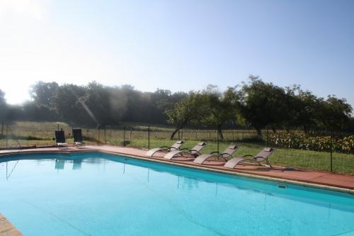 A Large Private, Heated, Secure Swimming Pool, Shady Terrace, Open Spaces.  The Promise Of An Unforgettable Holiday In A Natural And Authentic Setting.