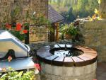 La Petite Maison : The terrasse area