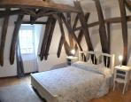 the double bedroom at top floor