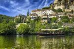 The medieval village of Beynac, listed one of the most beautiful village of France