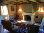 The Old barn : the cosy sitting room