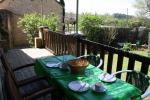A peaceful spot for an aperitif!