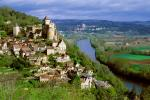 The listed village of Castelnaud la Chapelle