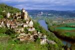 The listed village of Castelnaud la Chapelle