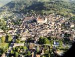 The medieval village of St Cyprien