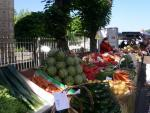 Market day at St Cyprien