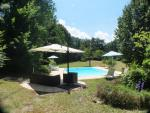 The superb private heated pool