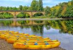 The dordogne river at Vitrac, 7km away, ideal for a swim or a canoe ride