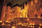 Sarlat by night!