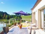 Holidays gite Dordogne Rotonde - Côté Terrasse