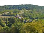 The Olivarie hamlet  is perched on hilly position