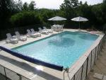12x6M salt water swimming pool