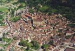 the busy village of st Cyprien